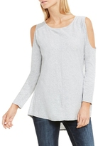 Two by Vince Camuto Cold-shoulder T-shirt