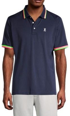 Psycho Bunny Logo Short-Sleeve Polo