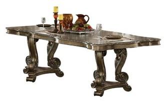 Astoria Grand Devitt Extendable Solid Wood Dining Table