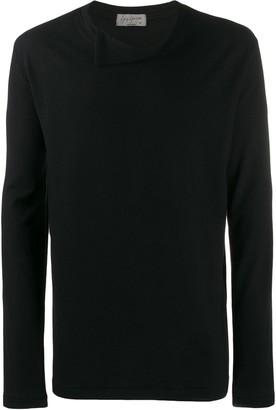 Yohji Yamamoto collar detail jumper
