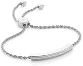 Monica Vinader Linear Diamond And Chain Bracelet