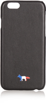 MAISON KITSUNÉ Logo-print leather iPhone® 6 case