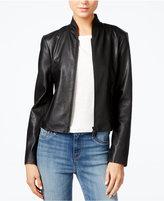 Armani Exchange Faux-Leather Jacket