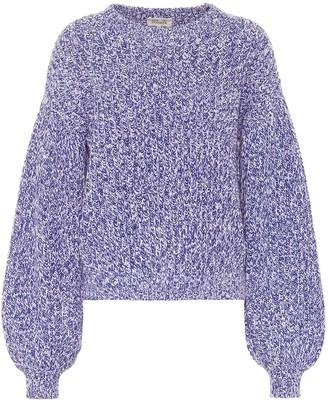 Baum und Pferdgarten Cerra ribbed-knit cotton-blend sweater