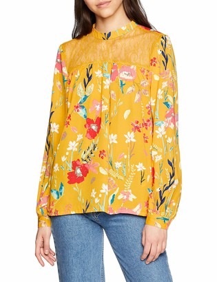 Only Women's Onlpenny Ls Top WVN Blouse