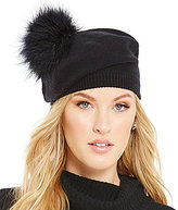 Kate Spade Feather Marabou Pom Beret
