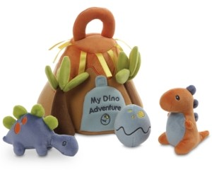 Gund Baby Boys or Girls My Dino Adventure Plush Play Set