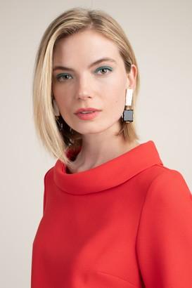 Trina Turk Geo Tile Drop Post Earring