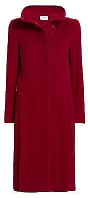 Akris Punto Women's Side Zip Wool & Cashmere Coat