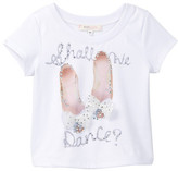 Baby Sara Shall We Dance Bow Shoe Top (Baby & Toddler Girls)