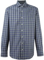 Hackett 'Mayfair Navy Check' shirt