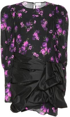 Magda Butrym Matera floral silk minidress