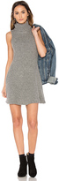J.o.a. Sleeveless Sweater Dress in Gray. - size L (also in M)