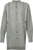 Skingraft Button Up with Harness shirt - men - Cotton - S