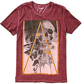 William Rast Triple Skull Short-Sleeve Graphic T-Shirt