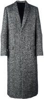 Haider Ackermann long single breasted coat