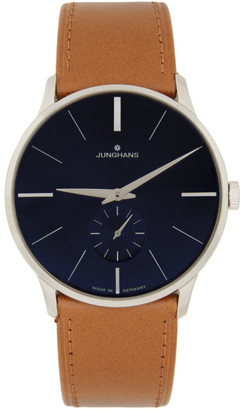 Junghans Brown and Black Meister Handaufzug Watch
