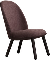 Normann Copenhagen Ace Lounge Chair Nist - Dark Red