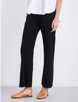 Jil Sander High-rise loose-fit woven trousers