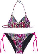 Mc2 Saint Barth Kids - Teen Holly bikini - kids - Polyamide/Spandex/Elastane - 14 yrs