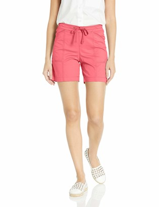 Lee Women's Flex-to-Go Relaxed Fit Pull-On Drawstring Short