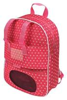 Badger Basket Doll Travel Backpack with Plush Friend Compartment - Star Pattern