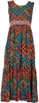 Izabel London Ikat Print Maxi Dress