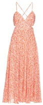 Rebecca Taylor Provence-print cotton-voile maxi dress