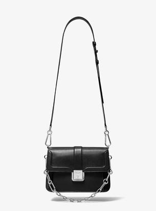 Michael Kors Crawford Pebbled Calf Leather Crossbody Bag