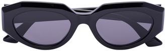 Bottega Veneta Oval Sunglasses