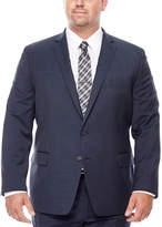 Claiborne Blue Neat Suit Jacket - Big & Tall