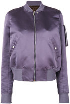 Rick Owens padded bomber jacket - women - Silk/Cotton/Polyester/Virgin Wool - 40