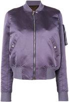 Rick Owens padded bomber jacket