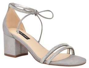 Nine West Keiko Women's Ankle Tie Dress Sandals Women's Shoes