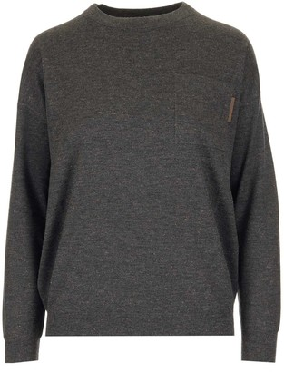 Brunello Cucinelli Pocket Knitted Jumper