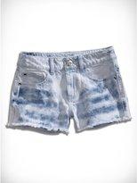 GUESS Big Girl Tie-Dye Jean Shorts