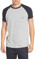 French Connection Men's Raglan Short Sleeve T-Shirt