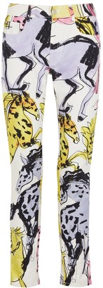 Stella McCartney Printed skinny jeans
