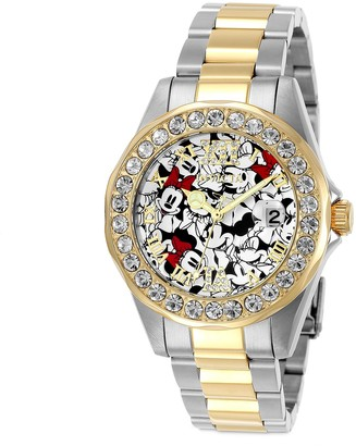Disney Minnie Mouse Two-Tone Watch for Women by INVICTA