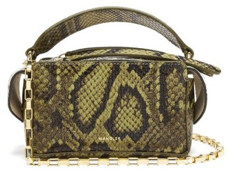 Wandler Yara Python-effect Leather Cross-body Bag - Python