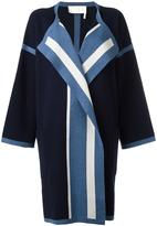 Chloé oversized cardigan coat - women - Silk/Cotton/Cashmere - S