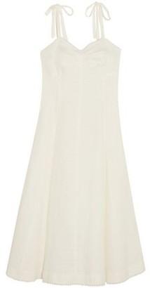 Miguelina Mina Cotton-gauze Midi Dress