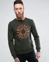 Scotch & Soda Printed Crew Sweater