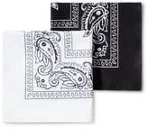Goodfellow & Co Men's Bandanas - Goodfellow & Co White/Black One Size