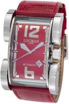 Locman Men's 500RD Latin Lover Collection Steel Watch