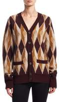 Marc Jacobs Patterned Cashmere Cardigan