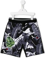 Dolce & Gabbana banana leaf print shorts