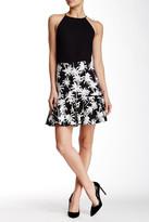 Nicole Miller Palm Ruffle Skirt