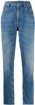 Brunello Cucinelli high-rise boyfriend fit jeans