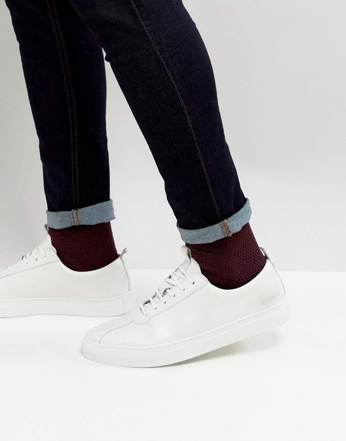 Grenson Sneakers In White Leather